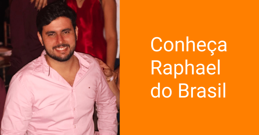 Conheça Raphael do Brasil